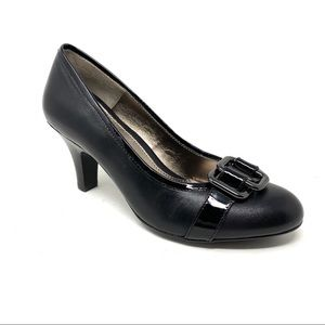 Söfft Vivia black leather pumps